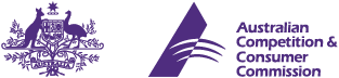 Logo for Australian Competition and Consumer Commission